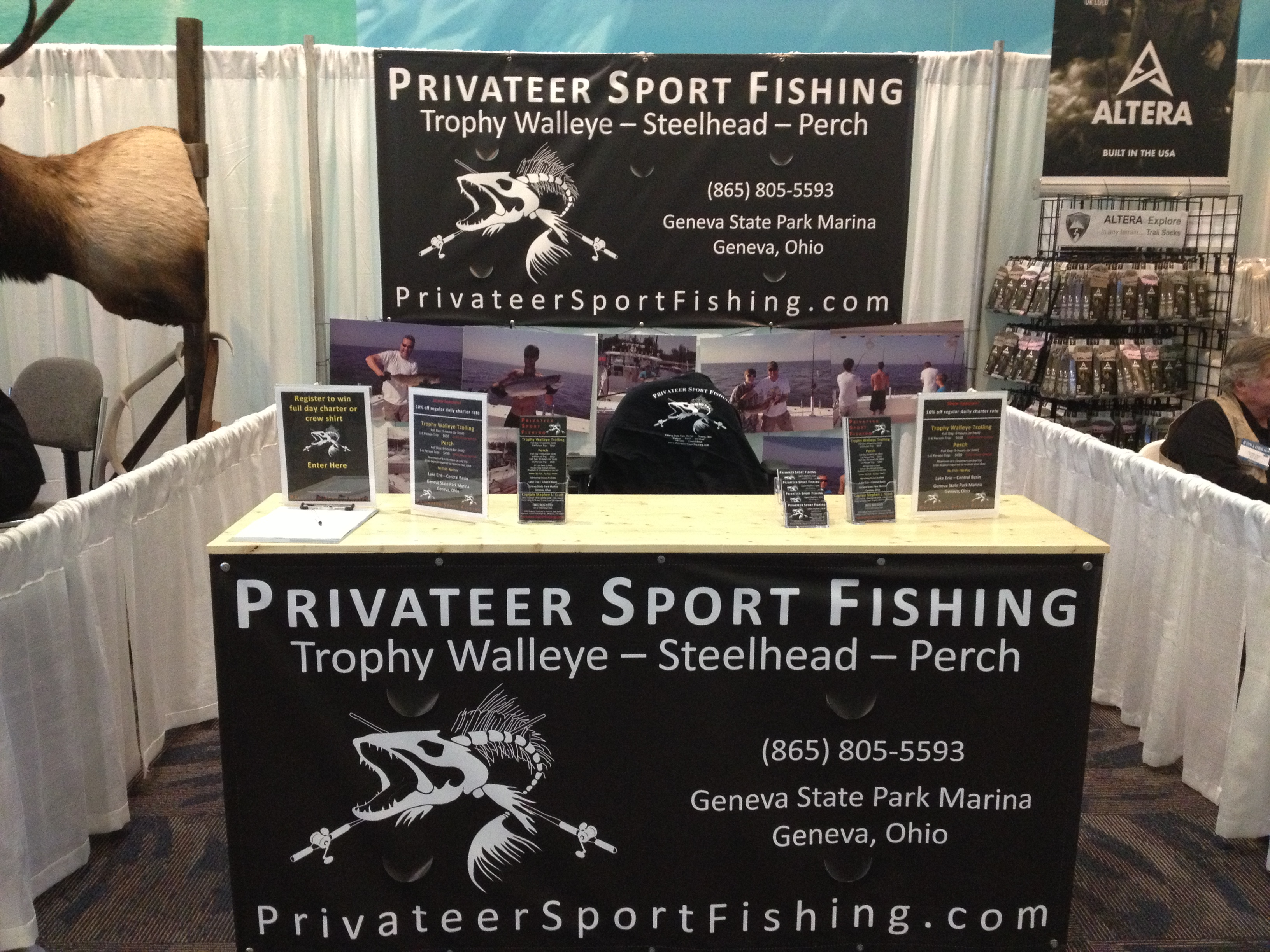 Privateer sport fishing walleye steelhead and perch for Fishing charters cleveland ohio